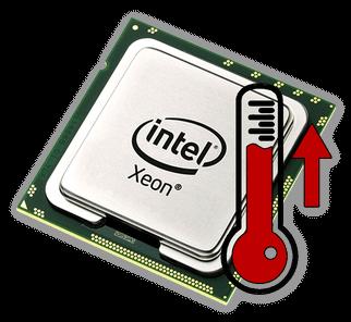 Повышенная температура процессора