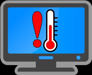 Предупреждение о высокой температуре