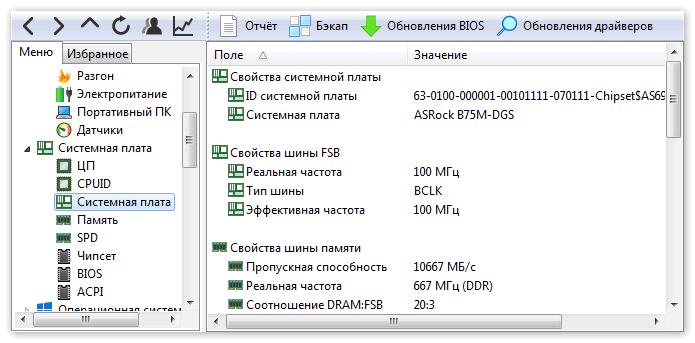 Тестирование составляющих компьютера в Aida 64